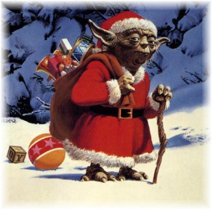 Merry Christmas From All of Us at Coffee With Kenobi!