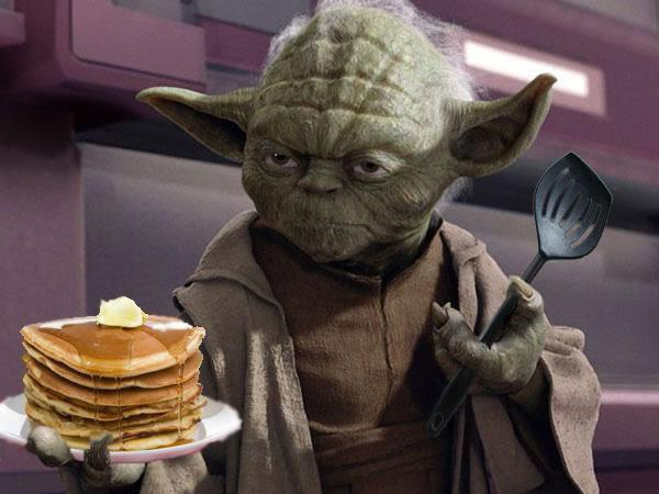 YODA'S HOUSE OF PANCAKES–The Force Awakens the Mystery