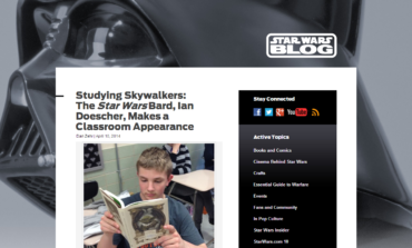 Dan Z's New Blog Post on Star Wars.com Featuring Ian Doescher Now Available