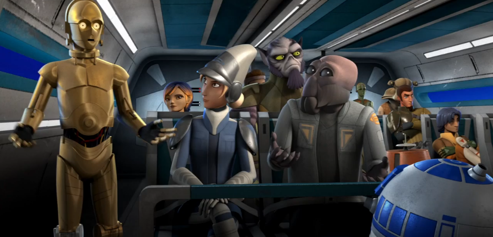 """Go Behind-the-Scenes of Star Wars Rebels """"Droids in Distress"""""""