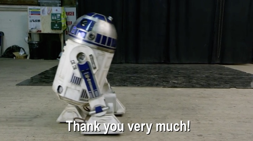 Video  Thank You Message From The Set Of  U0026 39 Star Wars  The