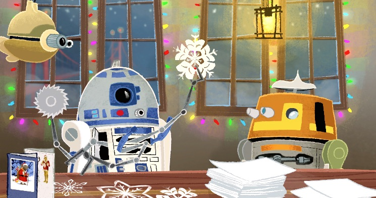 Holiday Greetings from Lucasfilm!