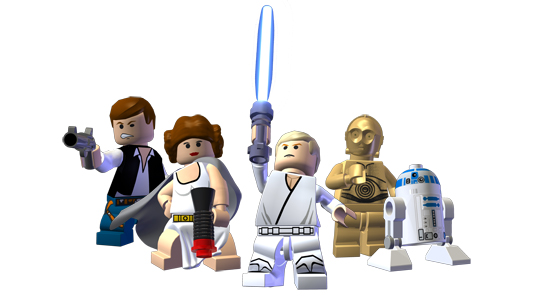 The Star Wars Saga Retold LEGO-Style