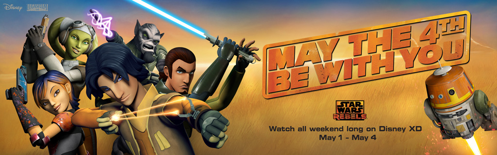 Celebrate May the 4th Weekend with Disney XD!