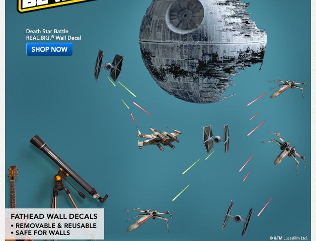 Check Out the Star Wars Day Offers from Fathead!
