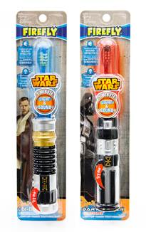Introducing the New Firefly Star Wars Lightsaber Toothbrush!