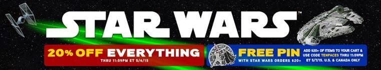 Celebrate Star Wars Day with ThinkGeek!