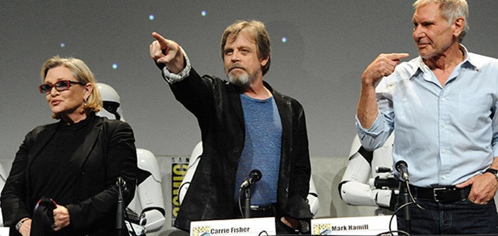 Star Wars at SDCC 2015 – Images from the Panel and the Surprise Concert! — Part 1