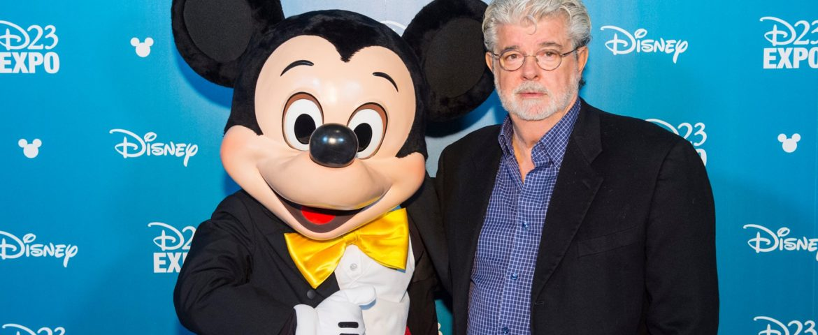 George Lucas Honored as Disney Legend at D23 Expo 2015 [Video]