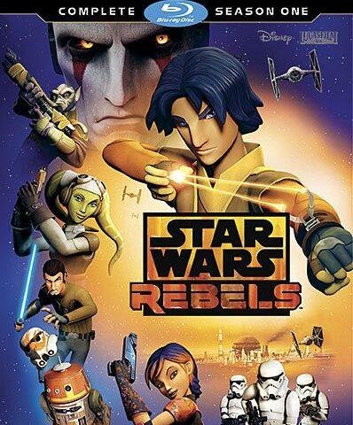 Star Wars Rebels Season 1 Blu-ray DVD Review