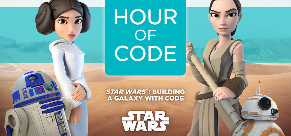Code.org, Disney, and Star Wars Launch 'Building a Galaxy with Code' Tutorial