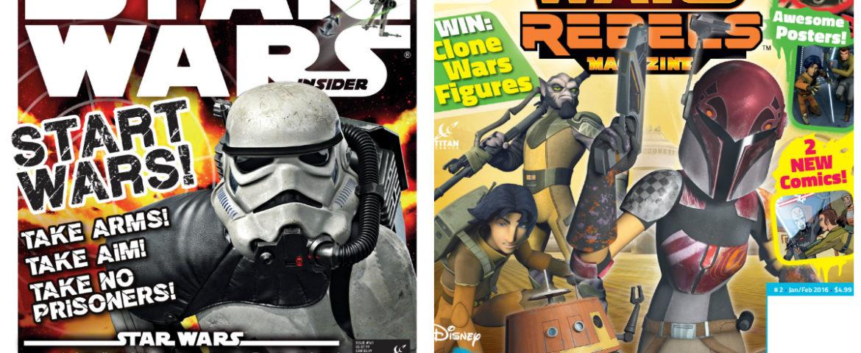 Star Wars Insider and Star Wars Rebels Magazine Black Friday offers!