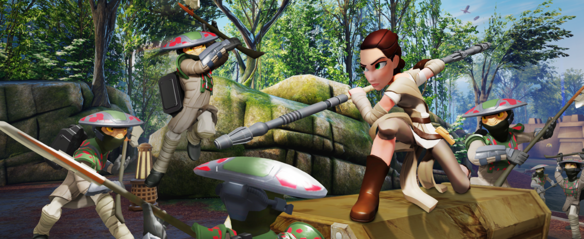 'Star Wars: The Force Awakens' Play Set for Disney Infinity 3.0 Now Available