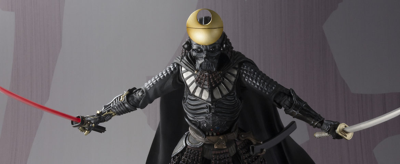 "BLUEFIN Releases New STAR WARS Samurai ""DAISHO"" DARTH VADER Figure"