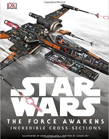 Book Review: Star Wars: The Force Awakens Incredible Cross-Sections