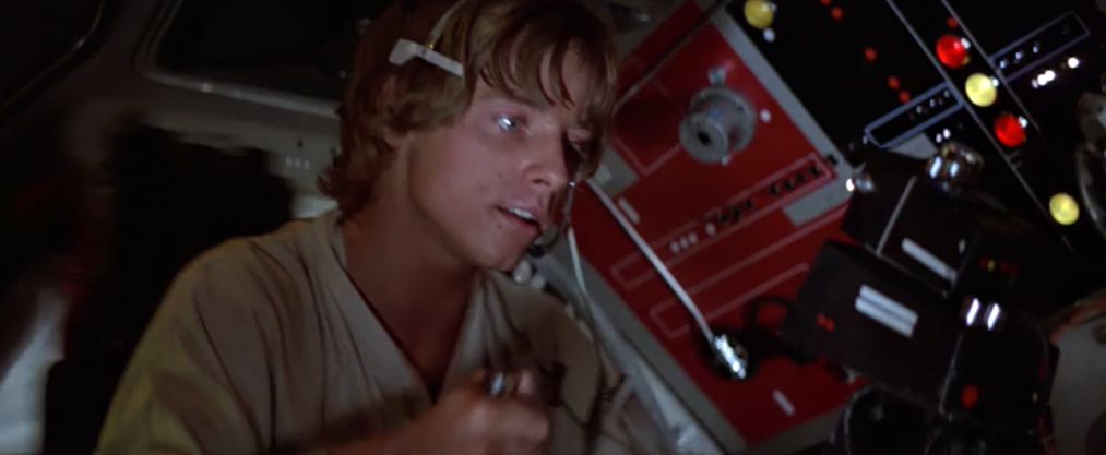 Ben's Death and TIE Fighter Attack:  Masterful Music and Editing