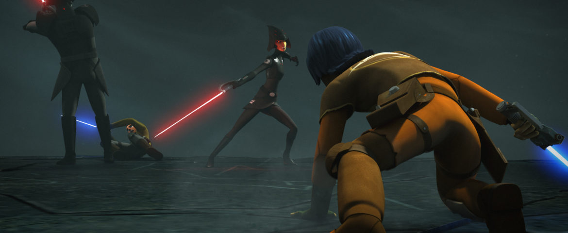 """Go Behind-the-Scenes with Star Wars Rebels: Rebels Recon for """"Shroud of Darkness"""""""
