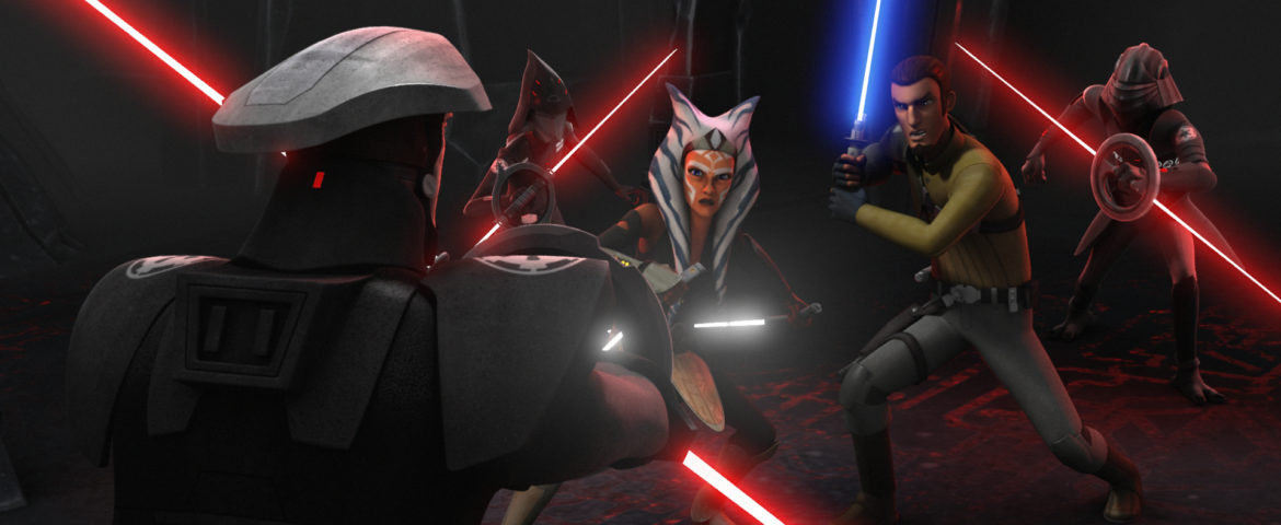 """STAR WARS REBELS – ONE-HOUR SEASON TWO FINALE """"Twilight of the Apprentice: Part I and II"""" – New Clip and Images"""