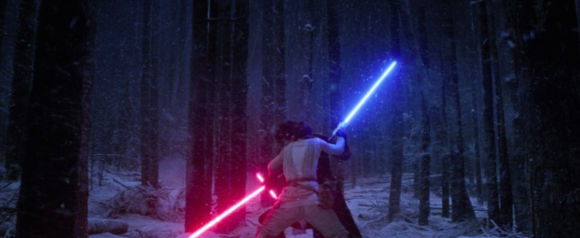 CWK's Dan Z and Amy Ratcliffe Ask Who's Stronger with the Force – Rey or Kylo Ren?