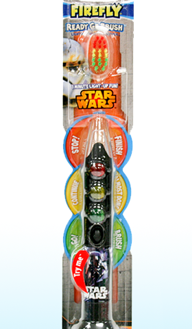 Star Wars Firefly Toothbrush Review