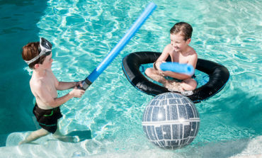 Celebrate May the Fourth with Star Wars Pool Toys from SwimWays