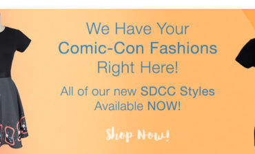 All-New SDCC Fashions Available Now at Her Universe