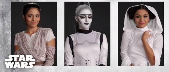 Girl Transforms Into 4 'Star Wars' Characters in Under 60 Seconds [Video]
