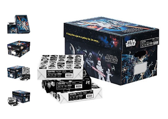 Quill Launches Star Wars Inspired Wrapped Copy Paper
