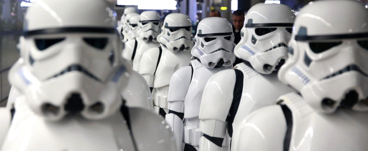 Star Wars Fans Descend on London Ahead of 'Rogue One: A Star Wars Story'