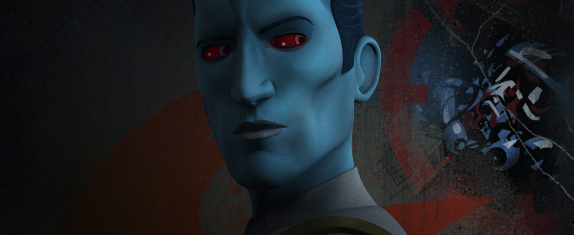 """Thrawn Closes In On Fulcrum In The Next Episode of """"Star Wars Rebels"""""""