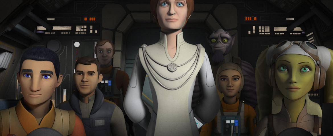 """Genevieve O'Reilly Reprises Her Role as Mon Mothma in """"Star Wars Rebels"""" this Saturday"""