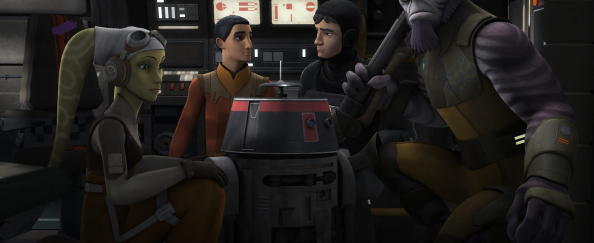 "Something's Wrong With Chopper In The Next Episode Of ""Star Wars Rebels"""