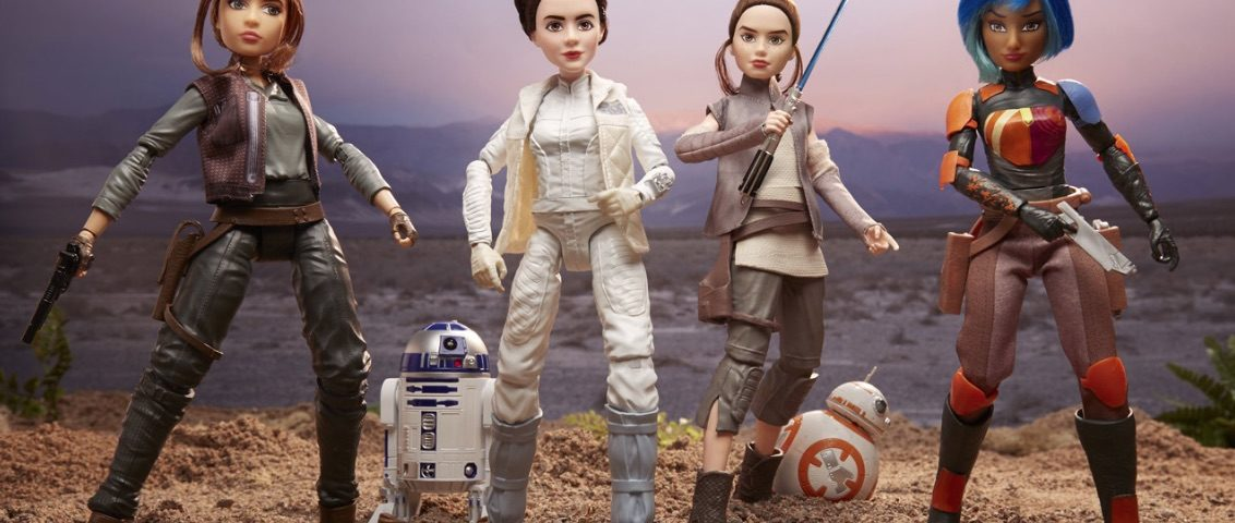 Disney, Lucasfilm, and Hasbro Celebrate Iconic Heroes with 'Star Wars Forces of Destiny' Adventure Figures and More