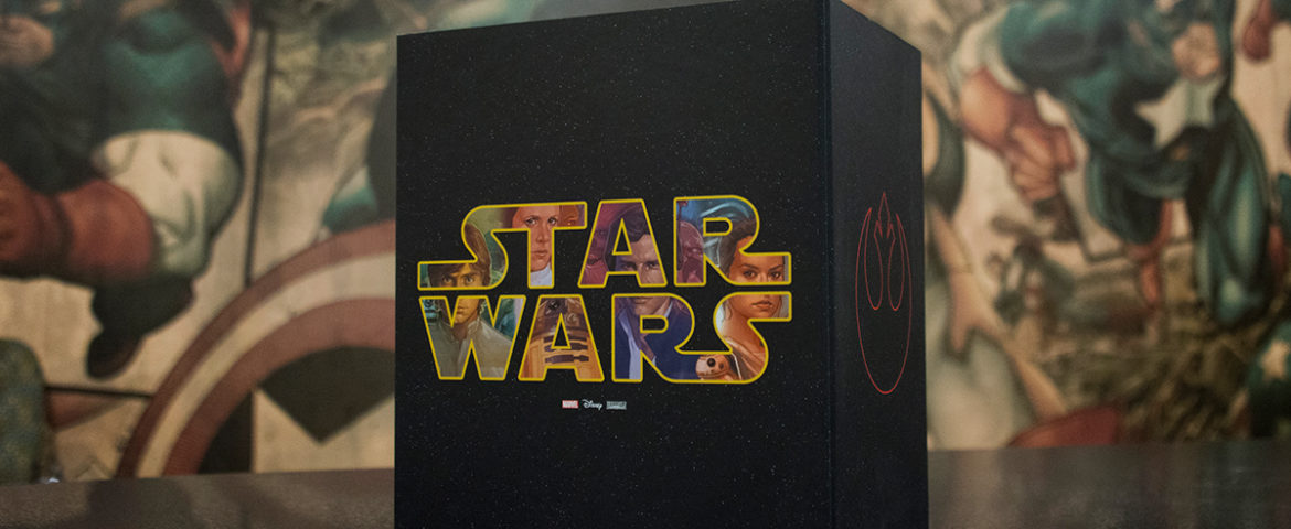 Experience Marvel's Star Wars Collected in One Galaxy-Sized Slipcase!