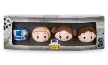 Star Wars 40th Anniversary Disney Tsum Tsum Set Released Online