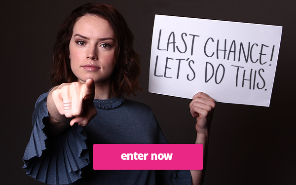 Last Chance to Win Epic Star Wars Experiences from Omaze and Earn 100 Bonus Entries!