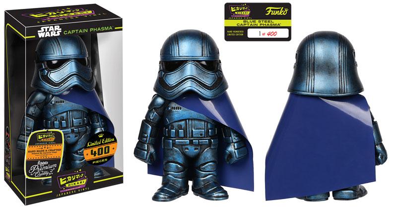 Star Wars Day Blue Steel Captain Phasma Hikari Exclusive from Funko