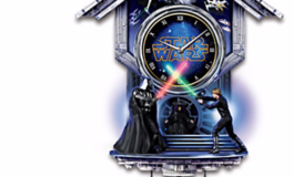 Sith vs. Jedi Wall Clock with Light-Up Lightsabers: Product Review