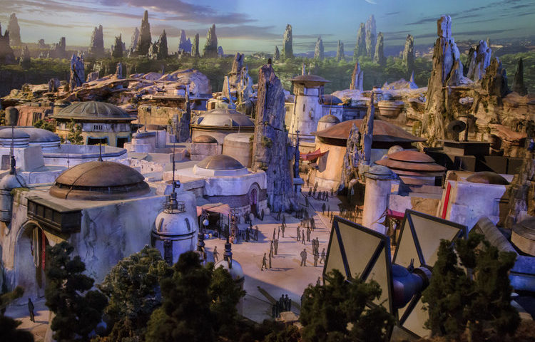 Star Wars: Galaxy's Edge Model to be Displayed at Disney's Hollywood Studios