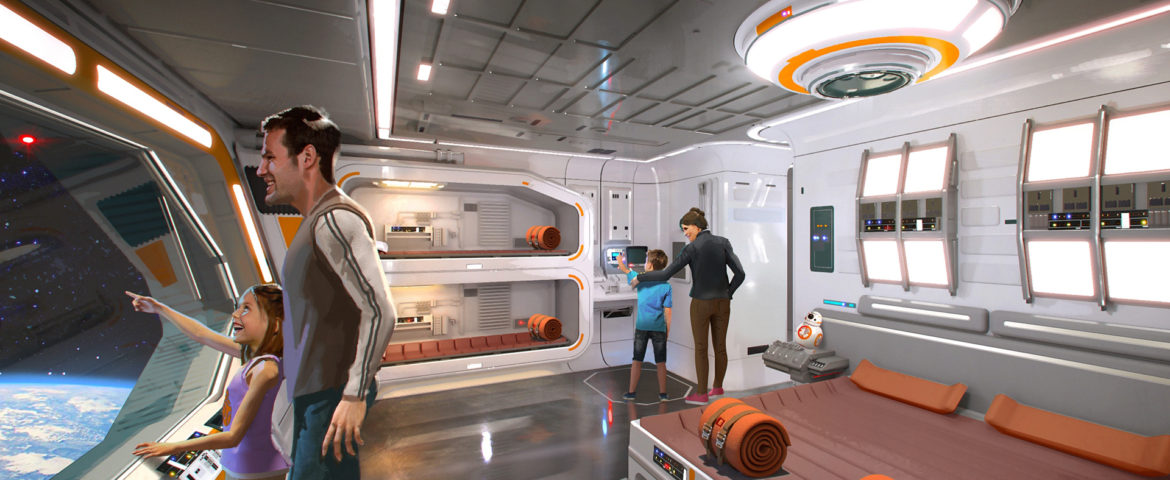 Location Update on Star Wars Themed Resort Planned for Disney World
