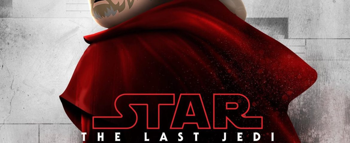'Star Wars: The Last Jedi' Character Posters Get a LEGO Makeover