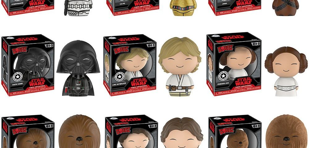 Star Wars Dorbz are Now Available at Disney Store
