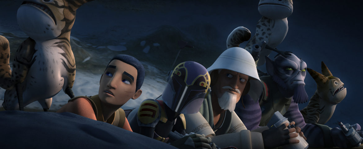 """Star Wars Rebels: Rebels Recon for """"The Occupation"""" and """"Flight of the Defender"""""""