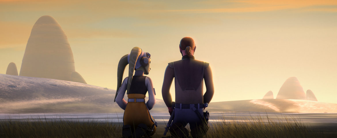 "Star Wars Rebels: Rebels Recon for ""Kindred"" and Crawler Commandeers"""