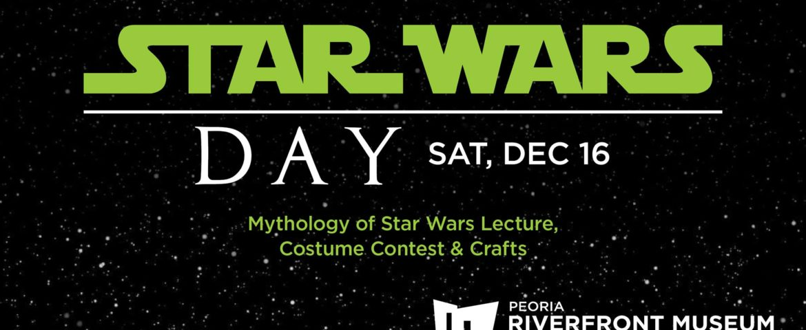 Join Coffee With Kenobi's Dan Z for Star Wars Day at Peoria Riverfront Museum