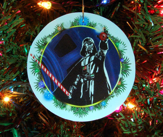 Check Out These Star Wars Christmas Ornaments by Zeitgaiss