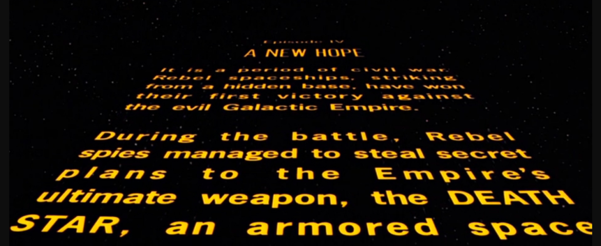 CWK Coffee Break: Literary Terms in the Star Wars Universe- Canon and En Media Res