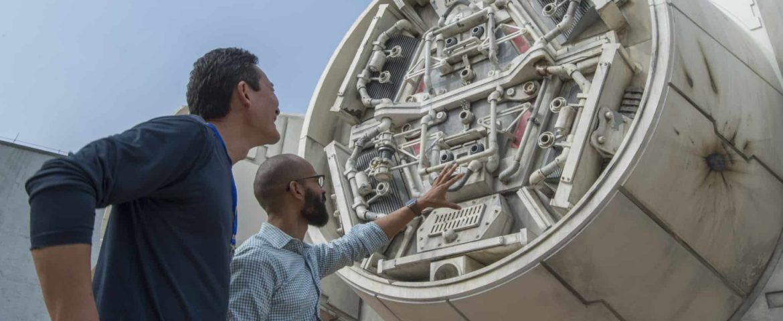 First Look at Star Wars Galaxy's Edge Millennium Falcon