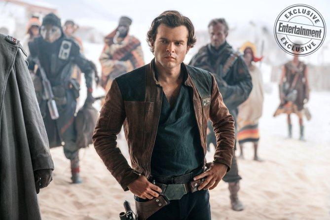 Solo: A Star Wars Story's Alden Ehrenreich Talks to Entertainment Weekly