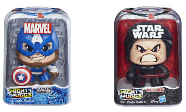 Check Out Hasbro's Star Wars and Marvel Mighty Muggs Available this Spring